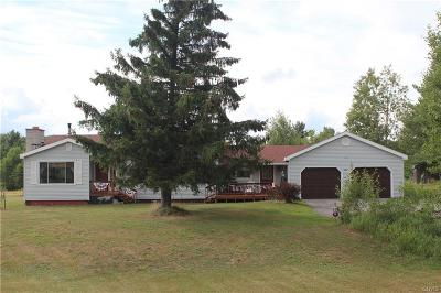 Harrisville NY Single Family Home A-Active: $119,900