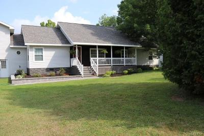 Morristown NY Single Family Home A-Active: $195,000