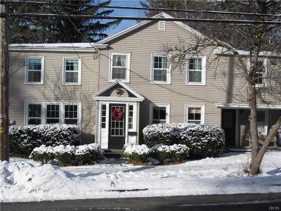 Cazenovia Single Family Home A-Active: 73 Lincklaen Street