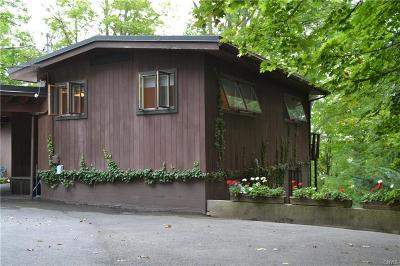 Owasco Single Family Home A-Active: 6415 East Lake Road