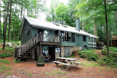Jefferson County, Lewis County Single Family Home A-Active: 6419 Cabin Point Road