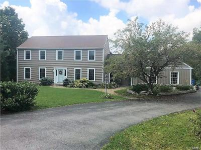 Cazenovia Single Family Home A-Active: 5537 Mount Pleasant Drive