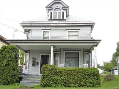 Lowville NY Single Family Home A-Active: $175,000