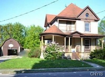 Gouverneur NY Single Family Home A-Active: $120,000