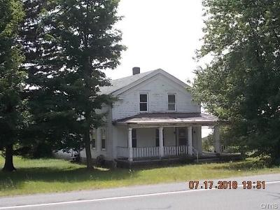 Single Family Home A-Active: 28020 Nys Route 126