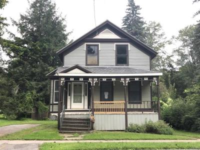 Sangerfield Single Family Home A-Active: 144 Madison Street #NS