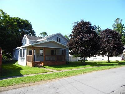 Lowville NY Single Family Home A-Active: $140,000
