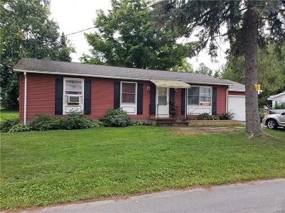 Lowville NY Single Family Home A-Active: $109,000