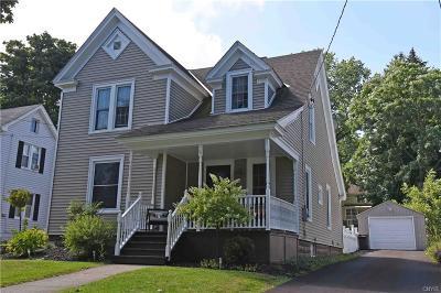 New Hartford NY Single Family Home A-Active: $205,000