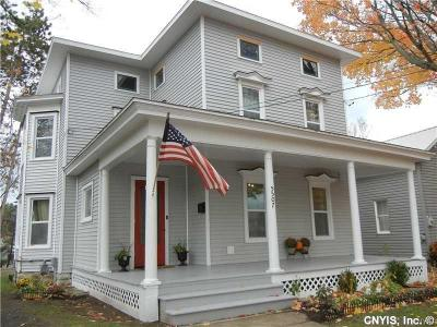 Lowville NY Single Family Home A-Active: $124,200