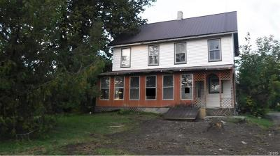 St Lawrence County Single Family Home A-Active: 124 Little York Road