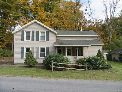 Lee Center Single Family Home A-Active: 9188 Sulphur Springs Road