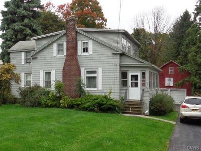 Syracuse Single Family Home A-Active: 4827 West Seneca Turnpike West