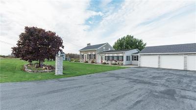 Jefferson County, Lewis County Single Family Home A-Active: 19049 Cady Road