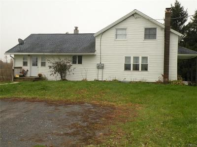 Evans Mills NY Single Family Home A-Active: $145,000