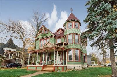 Watertown-city Multi Family Home For Sale: 302 Ten Eyck Street