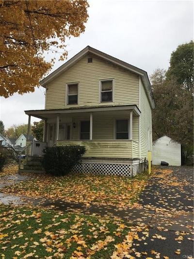 Herkimer County Single Family Home A-Active: 89 West North Street