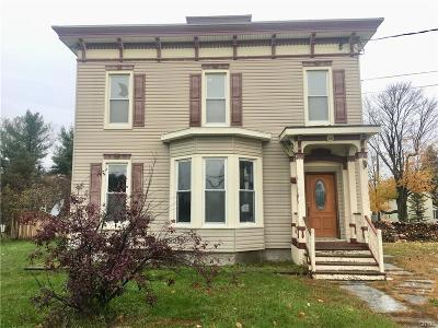 Gouverneur NY Single Family Home A-Active: $33,500