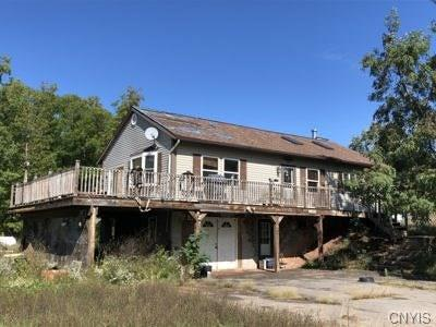Orleans County Single Family Home U-Under Contract: 2615 Monroe Orleans Countyline Rd