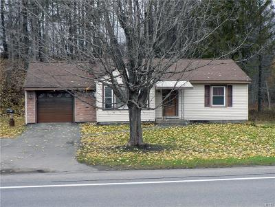 Holland Patent Single Family Home A-Active: 9733 Nys Rte 365 Highway