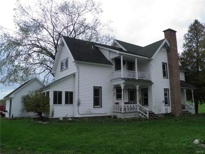 St Lawrence County Single Family Home A-Active: 668 Yellow Lake Road