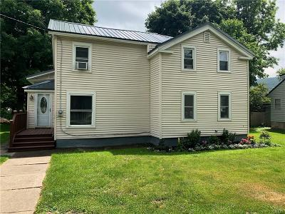 Moravia NY Single Family Home A-Active: $129,900