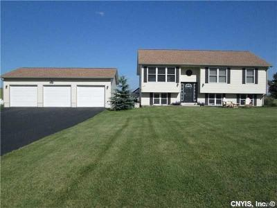Jefferson County Single Family Home U-Under Contract: 16600 County Route 156