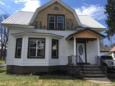 Boonville NY Single Family Home A-Active: $129,900