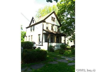 Syracuse Single Family Home A-Active: 856 West Lafayette Avenue