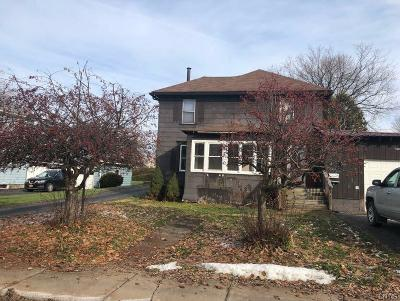 Sherrill Single Family Home U-Under Contract: 320 Ransom Avenue