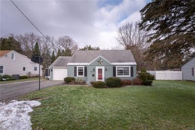 New Hartford NY Single Family Home U-Under Contract: $169,900
