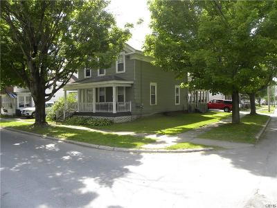 Boonville Single Family Home U-Under Contract: 121 Charles Street