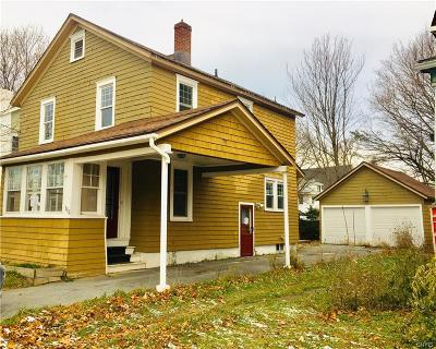 Watertown NY Single Family Home P-Pending Sale: $63,500