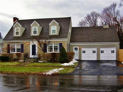 Syracuse Single Family Home U-Under Contract: 500 Wendell Terrace