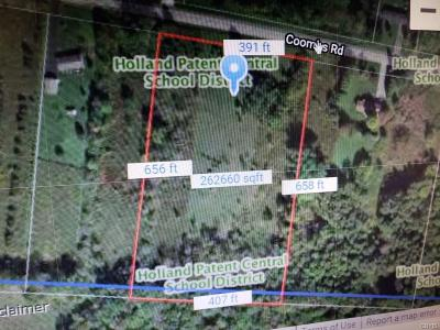 Holland Patent Residential Lots & Land A-Active: Coombs Road