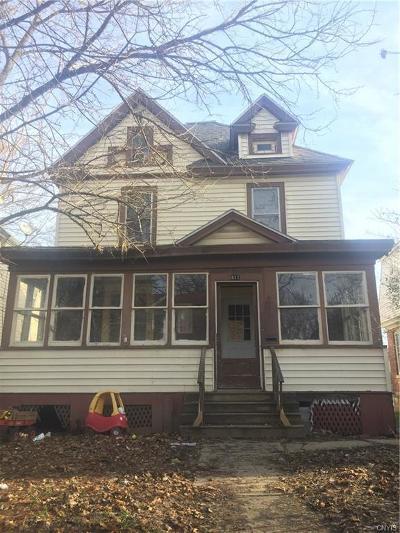 Syracuse Single Family Home A-Active: 411 Craddock Street