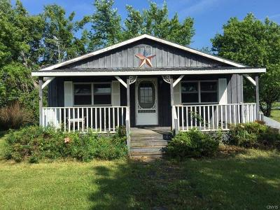 Jefferson County, Lewis County Single Family Home A-Active: 13963 Case Road