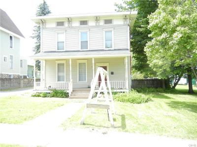 Croghan NY Single Family Home A-Active: $119,900