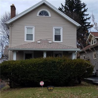 Syracuse Single Family Home U-Under Contract: 151 Niven Street