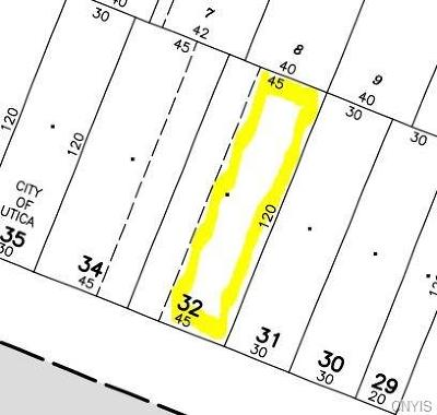 Utica Residential Lots & Land U-Under Contract: 923 Bleecker Street