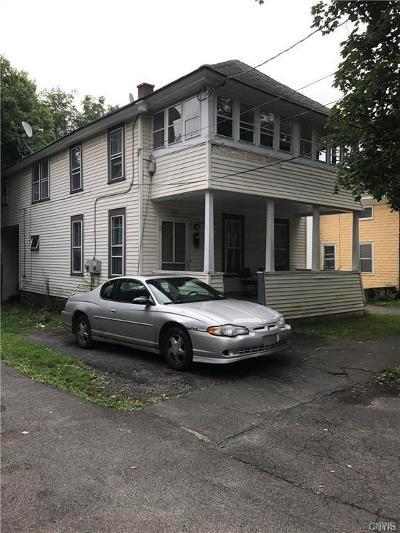 Syracuse Multi Family 2-4 A-Active: 139 Cannon Street