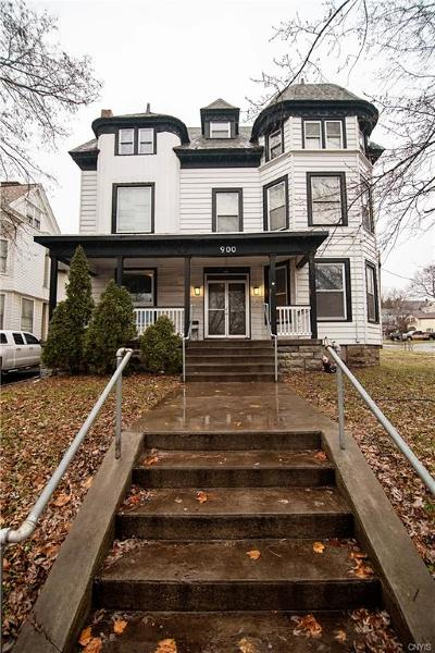 Syracuse Multi Family 5+ A-Active: 900 North Alvord Street