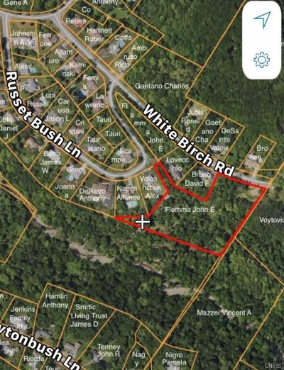 Utica Residential Lots & Land A-Active: White Birch Road