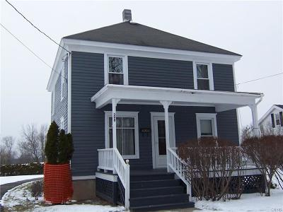 Sherrill Single Family Home U-Under Contract: 398 East Seneca Street