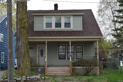 Watertown NY Single Family Home A-Active: $124,900