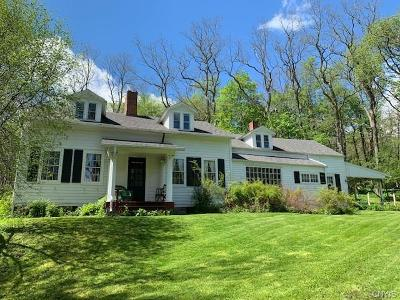 Cazenovia Single Family Home A-Active: 4622 Syracuse Road