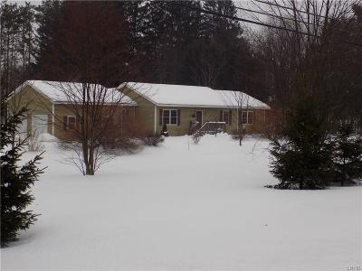 Oriskany Single Family Home U-Under Contract: 6208 Sutliff Road