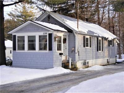 Lowville NY Single Family Home C-Continue Show: $80,000