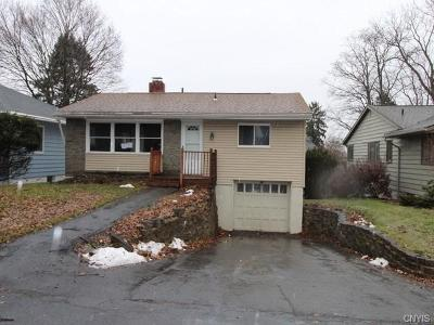 Syracuse Single Family Home A-Active: 103 Edgemont Drive