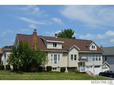 Utica Single Family Home A-Active: 221 Pleasant